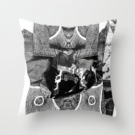 Tragic the Gathering Throw Pillow