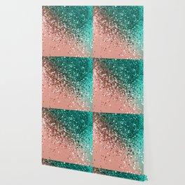 Cali Summer Vibes Lady Glitter #4 #shiny #decor #art #society6 Wallpaper