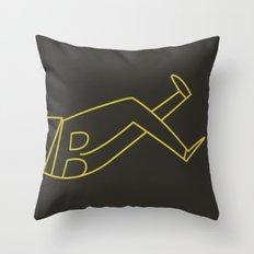 November Throw Pillow