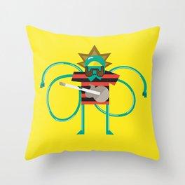 Bob Rock Throw Pillow
