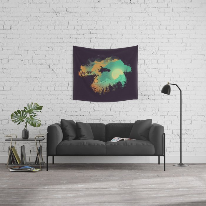 Leap of Faith Wall Tapestry