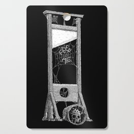 hungry guillotine Cutting Board