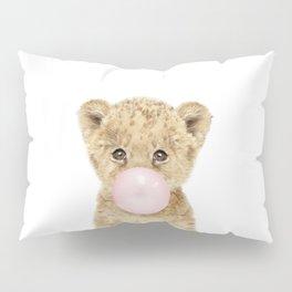 Bubble Gum Lion Cub Pillow Sham