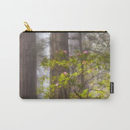 Forest Fog & Blooms Carry-All Pouch