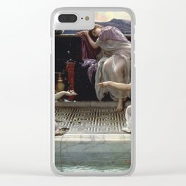 Edward Poynter - When The World Was Young Clear iPhone Case