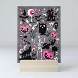 Halloween night Mini Art Print