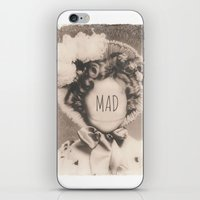 mad iPhone & iPod Skins featuring MAD by Oddworld Art