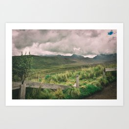 Out in the World Art Print