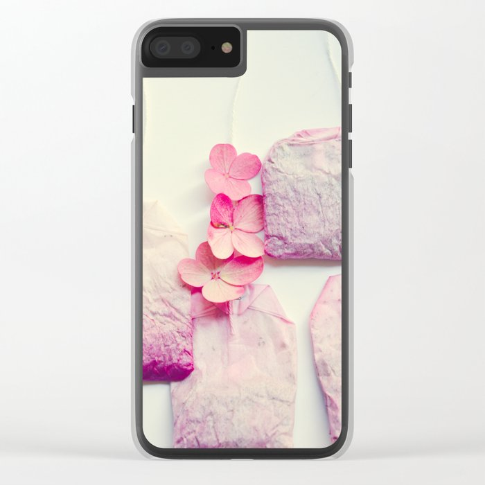 The Art of Tea Clear iPhone Case