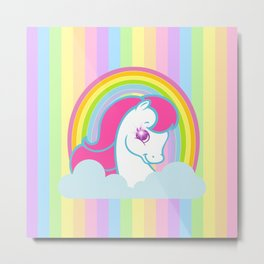 g2 my little pony logo repro Metal Print