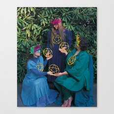 6 of Pentacles Canvas Print