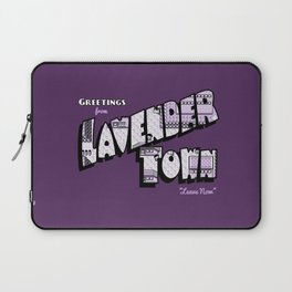Greetings from Lavender Town Laptop Sleeve