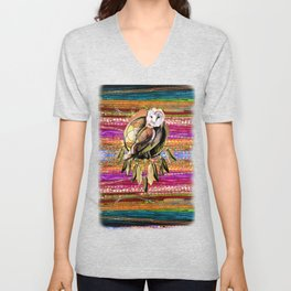 Indian Colors Unisex V-Neck