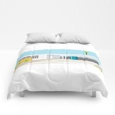 mid-century modern house four Comforters