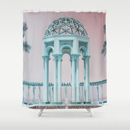 Retro Kuwait Shower Curtain