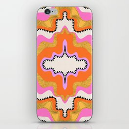 Orange Groove iPhone Skin