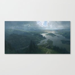 Arkham Canvas Print
