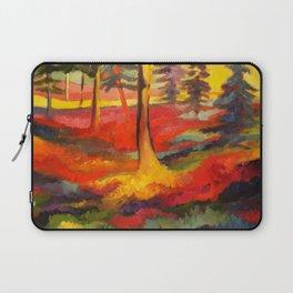 Vibrant Forest Laptop Sleeve