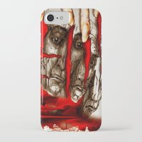 zombies iPhone & iPod Cases featuring Zombies by Rafael Salazar