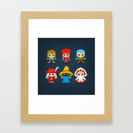 Select Your Job... Framed Art Print