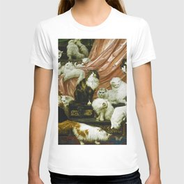 Classical Masterpiece 1893 - My Wife's Lovers by Carl Kahler T-shirt