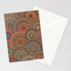 Mandala Mania-Vintage colors Stationery Cards