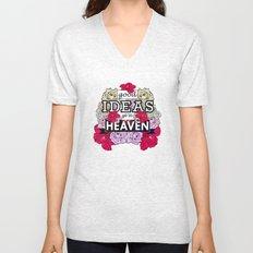 Good Ideas go to Heaven Unisex V-Neck