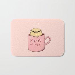 Pug of Tea Bath Mat