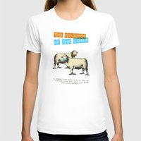 silence of the lambs T-shirts featuring The silence of the lambs by Marta Colomer