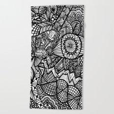 Doodle 5 Beach Towel