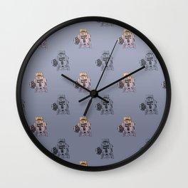 Tars in the R2D2-blue Wall Clock