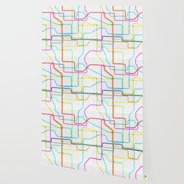 London Tube Underground Wallpaper
