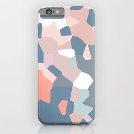 love the world to pieces pinks and grays iPhone Case