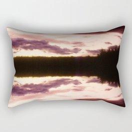 Rorschach's Sunset Rectangular Pillow