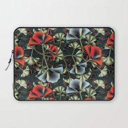 flores misteriosas Laptop Sleeve
