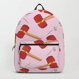 Pink Toy Hammer Backpack