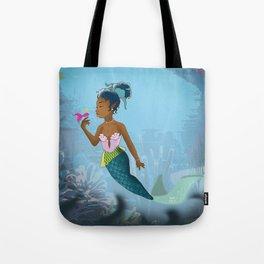 Classic Mermaid Dreams Tote Bag