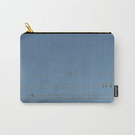swalows on wire Carry-All Pouch