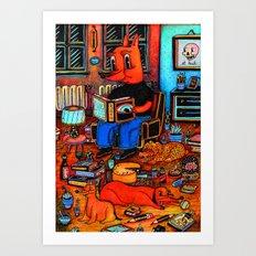 st. pauli Art Print