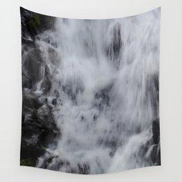 Waterfall Pareidolia Wall Tapestry