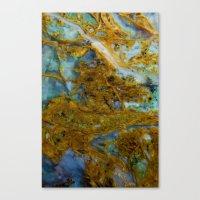 tie dye Canvas Prints featuring Tie Dye by Ian Bevington