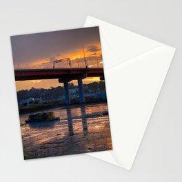 July Sunset on Casco Bay (2) Stationery Cards
