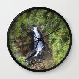 Miners Falls, Munising, Michigan. Wall Clock