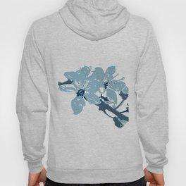 Blue Cherry Blossoms Hoody