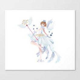 Clear card Canvas Print