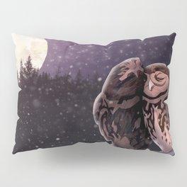 Owly kiss Pillow Sham
