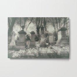 Highgate Cemetery London Metal Print