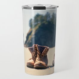 Dirty Shoes Happy Soles Travel Mug