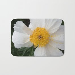 White Beauty by Teresa Thompson Bath Mat