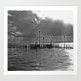 ThePier bywhacky Art Print